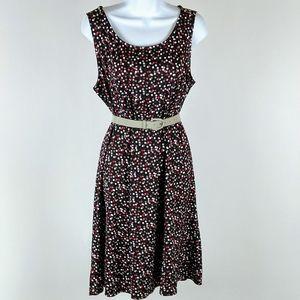 Perceptions sleeveless stretch dress size large